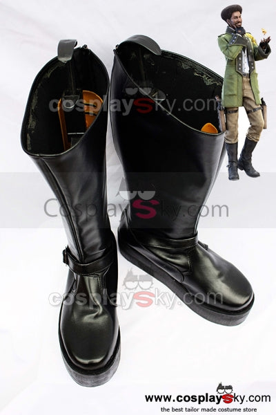 Final Fantasy XIII Sazh Katzroy Cosplay Chaussures