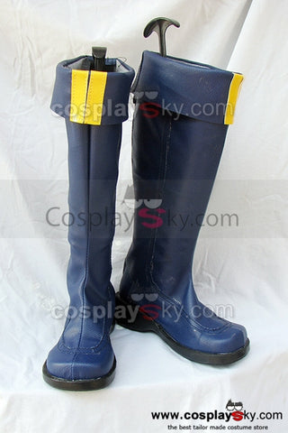 Fire Emblem Eliwod Cosplay Botte Bleu Cosplay Chaussures