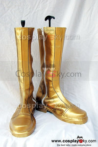 Fire Emblem Sothe Cosplay Botte Jaune cosplay Chaussures