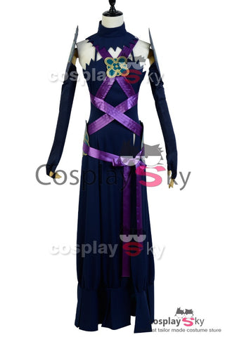 Fire Emblem Fates Azura Robe Noire Cosplay Costume