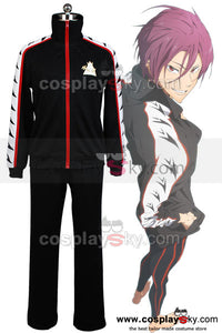 Free! Iwatobi Swim Club Rin Matsuoka Uniforme Cosplay  Costume