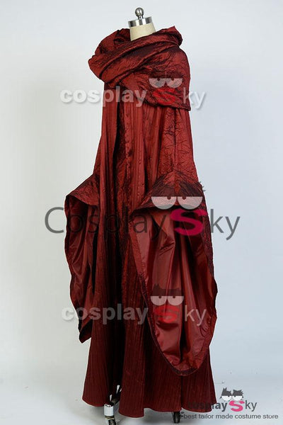 Le trône de fer The Red Woman Melisandre Robe Cosplay Costume