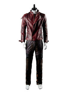 Guardians of the Galaxy 2 Peter Jason Quill Starlord Seulement Blouson Cosplay Costume