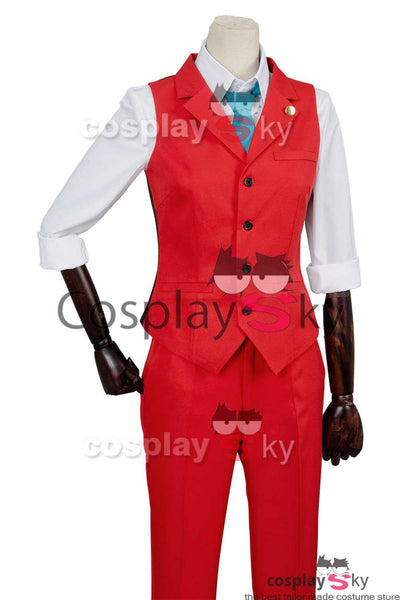 Gyakuten Saiban 4 Apollo Justice: Ace Attorney Polly Cosplay Costume