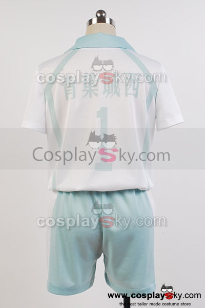 Haikyu!! Aoba Jousai Tooru Oikawa Volley-ball Uniforme Cosplay Costume