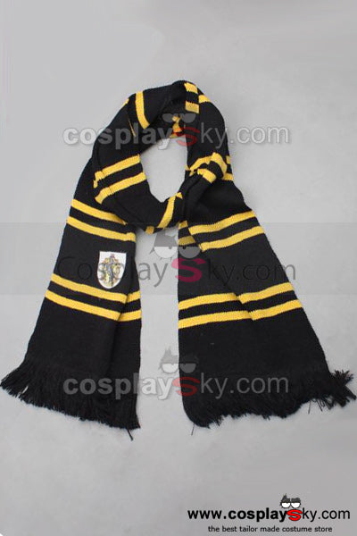 Harry Potter Hufflepuff Echarpe Cosplay Accessoire