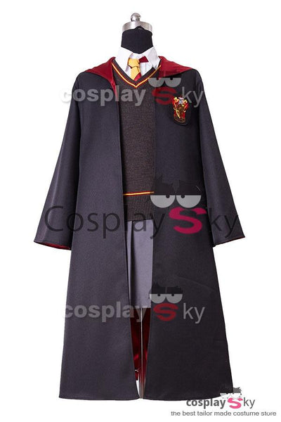 Harry Potter Gryffindor Uniforme Scolaire Hermione Granger Cosplay Costume Version Adulte