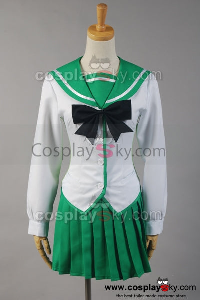 HighSchool of the Dead HOTD Uniforme de Rei Miyamoto Cosplay Costume