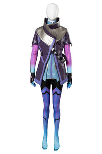 Overwatch OW Sombra Cosplay Costume
