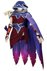LOL League of Legends Xayah Cosplay Costume