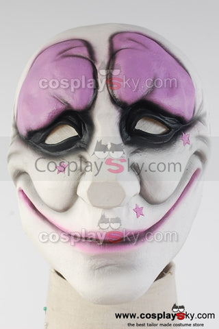 Payday 2 Hoxton Cosplay Masque