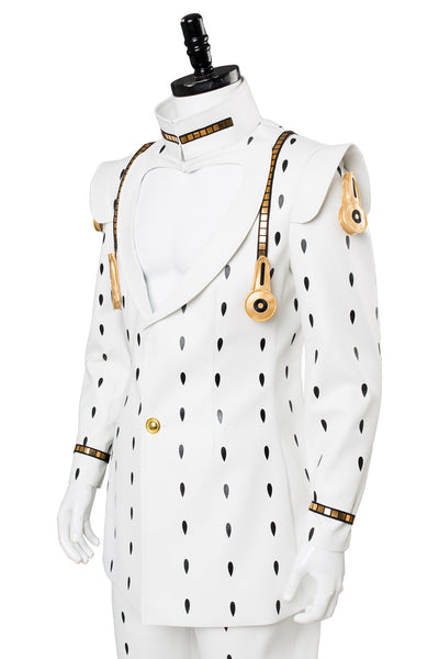 JoJo's Bizarre Adventure Golden Wind Buccellati Bruno Cosplay Costume