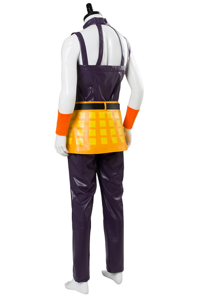 JoJo's Bizarre Adventure Golden Wind Ghirga Narancia Cosplay Costume