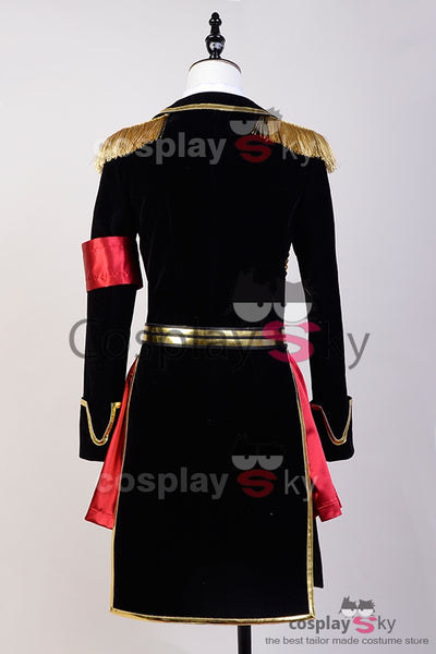 K Return of  Kings Kushina Anna Uniforme Militaire Cosplay Costume
