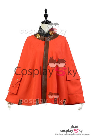 Kabaneri of the Iron Fortress Mumei Cape Cosplay Costume