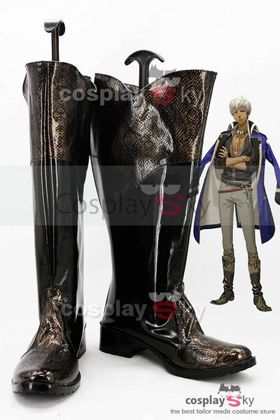Kamigami no Asobi Thoth Caduceus Botte Cosplay Chaussures