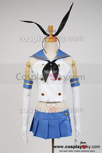 Kantai Collection Destroyer Japonais Shimakaze Cosplay Costume