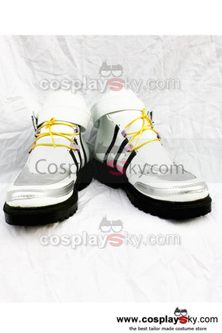 Kingdom Hearts Botte Basse  Blanche Cosplay Chaussures