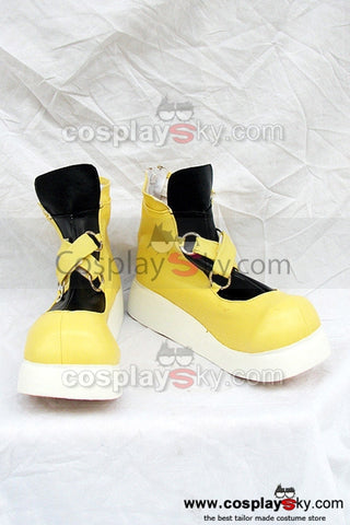 Kingdom Hearts Sora Botte Basse Jaune  Cosplay Chaussure