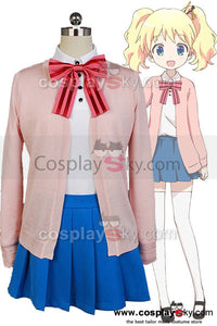 Kiniro Mosaic Alice Cartalet Cosplay Costume
