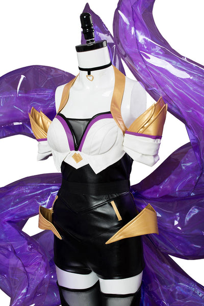 League of Legends LOL K/DA Ahri Cosplay Costume