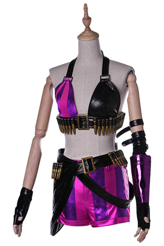 LOL League of Legends Jinx Cosplay Costume
