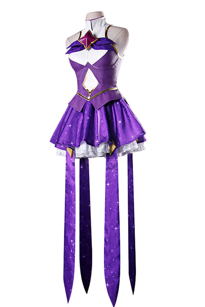 LOL League of Legends Star Guardian Syndra Cosplay Costume