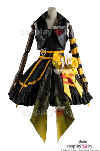 Love Live Lovelive Initial D School Idol Stage Rin Hoshizora Cosplay Costume