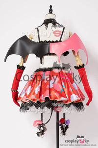 Love Live! Eli/Eri Ayase Petite Diable Transforme Uniforme Halloween Cosplay Costume