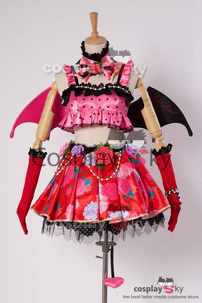 Love Live! Hanayo Koizumi Petite Diable Transforme Uniforme Halloween Cosplay Costume
