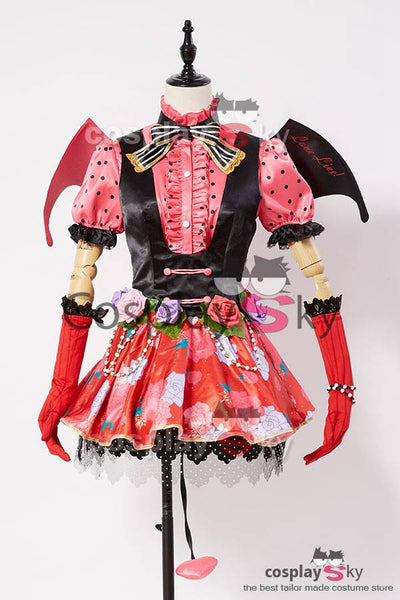 Love Live! Umi Sonoda Petite Diable Transforme Uniforme Halloween Cosplay Costume