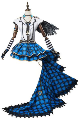 LoveLive School Idol Tomodachi Watanabe You Punk Rock Cosplay Costume