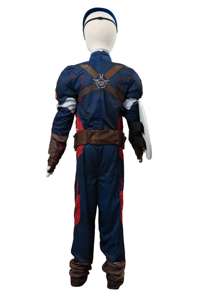 Marvel Avengers Captain America Costume Version Enfant Cosplay Costume