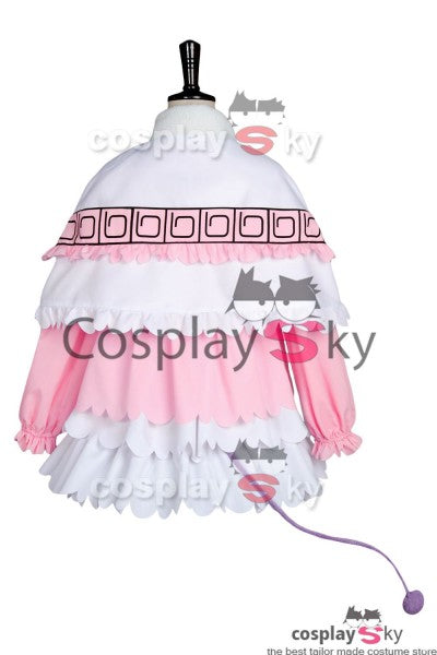 Miss Kobayashi-san Dragon Maid Kanna Kamui Costume + Perruque + Chaussures