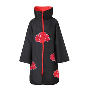 Naruto Cosplay Akasuki Robe Cosplay Costume