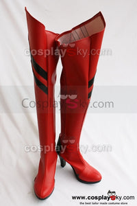 Neon Genesis Evangelion Asuka Cosplay Chaussures Rouges