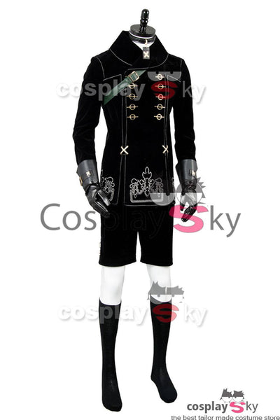 NieR:Automata 9S YoRHa No. 9 Type S Scanner Cosplay Costume