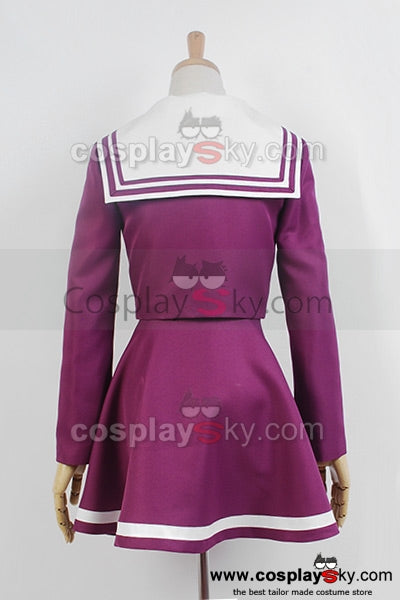 No Game No Life Shiro Uniforme Cosplay Costume