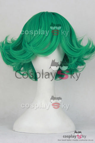 One-Punch Man Tornado of Terror Tatsumaki Cosplay Perruque