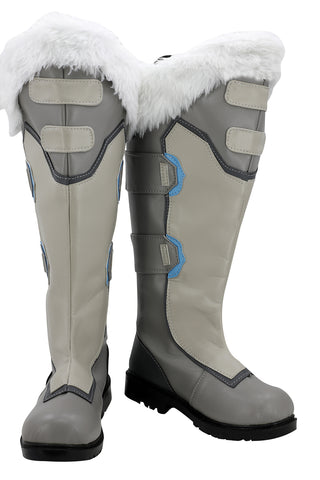 Overwatch Mei Cosplay Chaussure