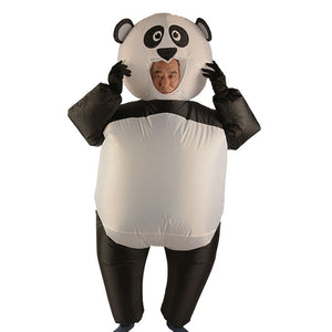 Panda Gonflable Costume Adulte Deguisement Panda Halloween Costume
