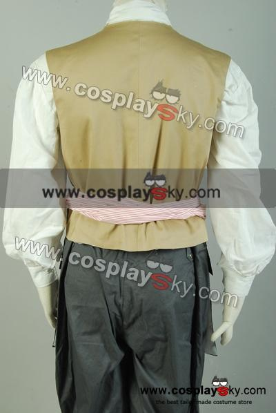 Pirates of the Caribbean 5: Jack Sparrow Costume