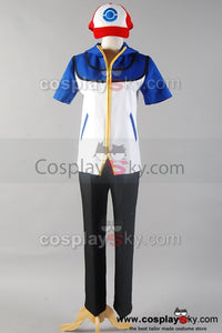 Pokemon Ash Ketchum Cosplay Costume Custom Version  C