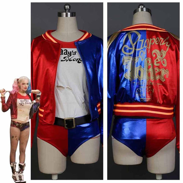 Suicide Squad DC Comics Harley Quinn Cosplay Costume