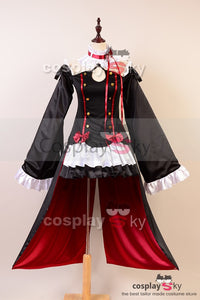 Seraph of the End Vampires Krul Tepes Uniforme Cosplay Costume