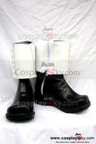Soul Eater Crona Cosplay Chaussures Noires et Blancs
