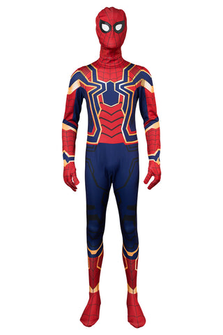 Spider-Man Homecoming Captain America 3 Civil War Peter Parker Combinaison Cosplay Costume