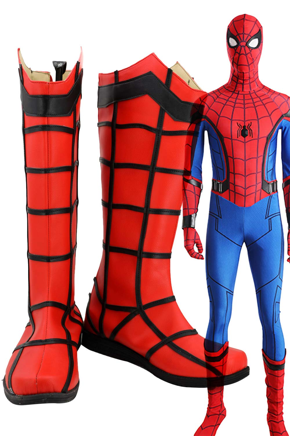 Spider-Man Homecoming Peter Parker Cosplay Chaussures