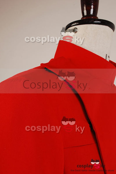 Star Wars Officer Imperial Uniforme Rouge Cosplay Costume