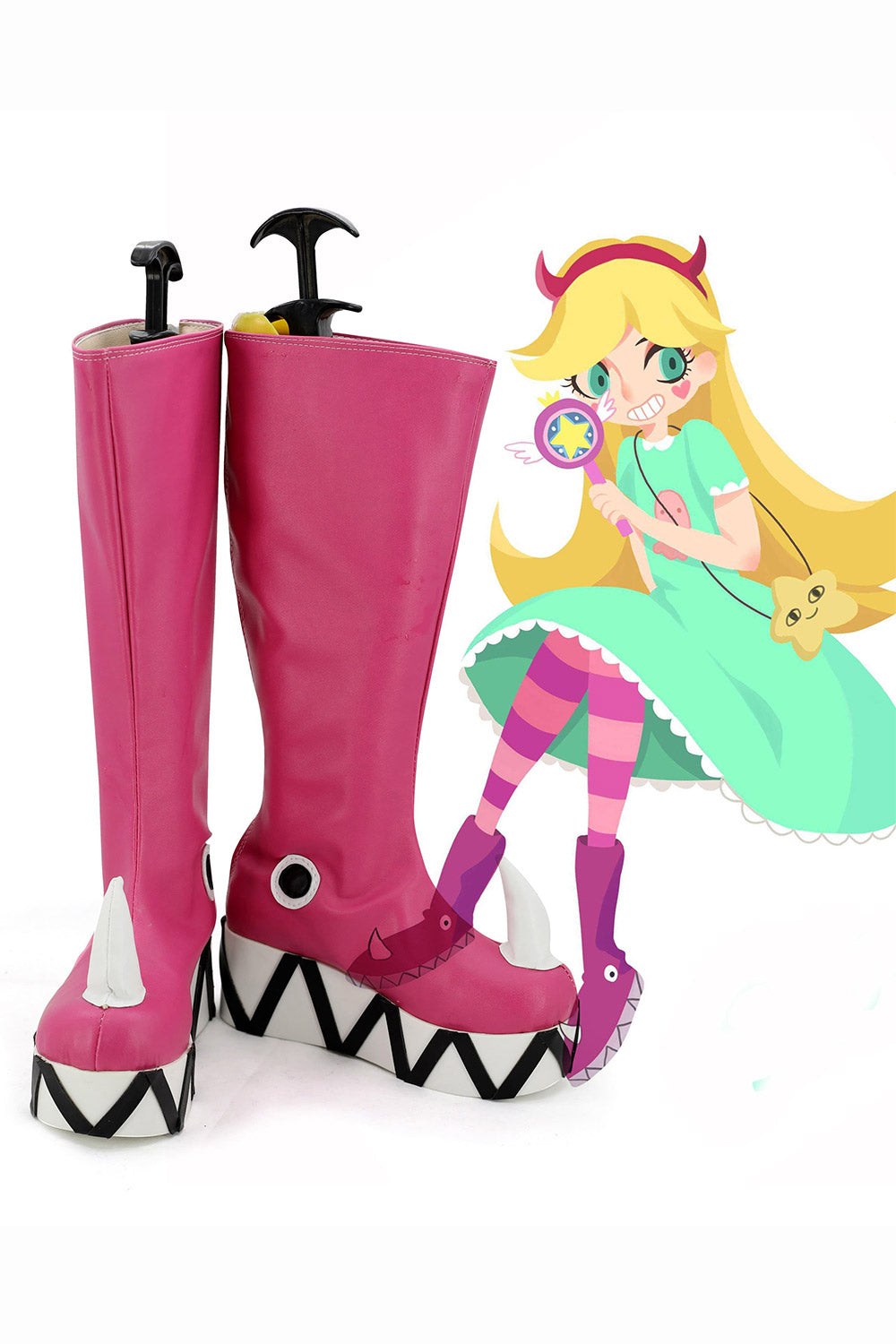 Star Butterfly Disney Princesse Bottes Cosplay Chaussures